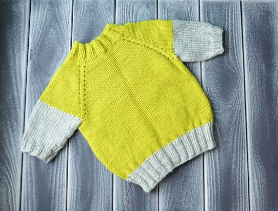 baby knitted soft pullover little sweater for kids handmade