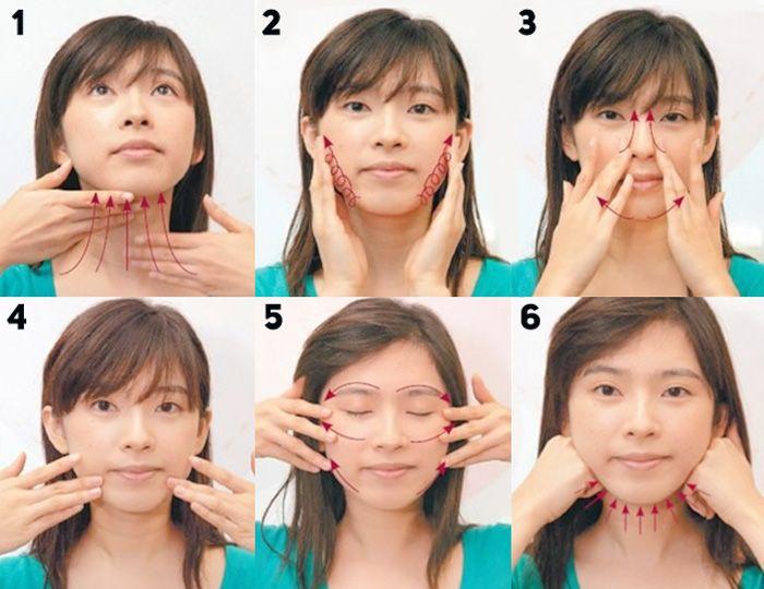 Азиатские стандарты: V-образная форма лица
