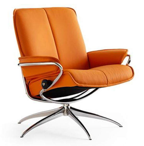 Ekornes Stressless City Low Back Leather Recliner Chair   City Chair  Lounger   Ekornes Stressless City Recliners, Stressless Chairs, Stressless  Sofas And ...