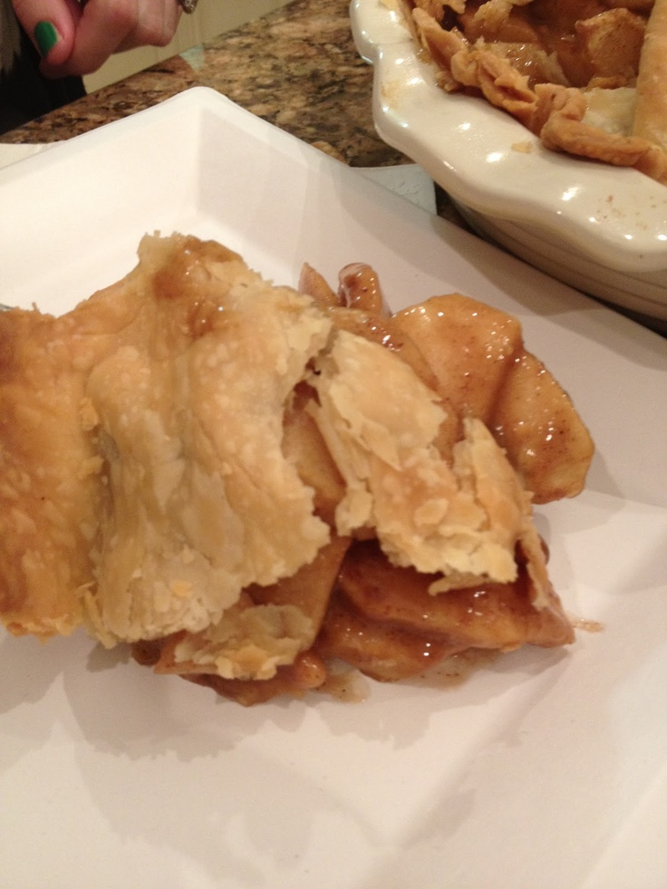 SEARCH IS OVER...and I have done a lot of searching...BEST HOMEMADE APPLE PIE