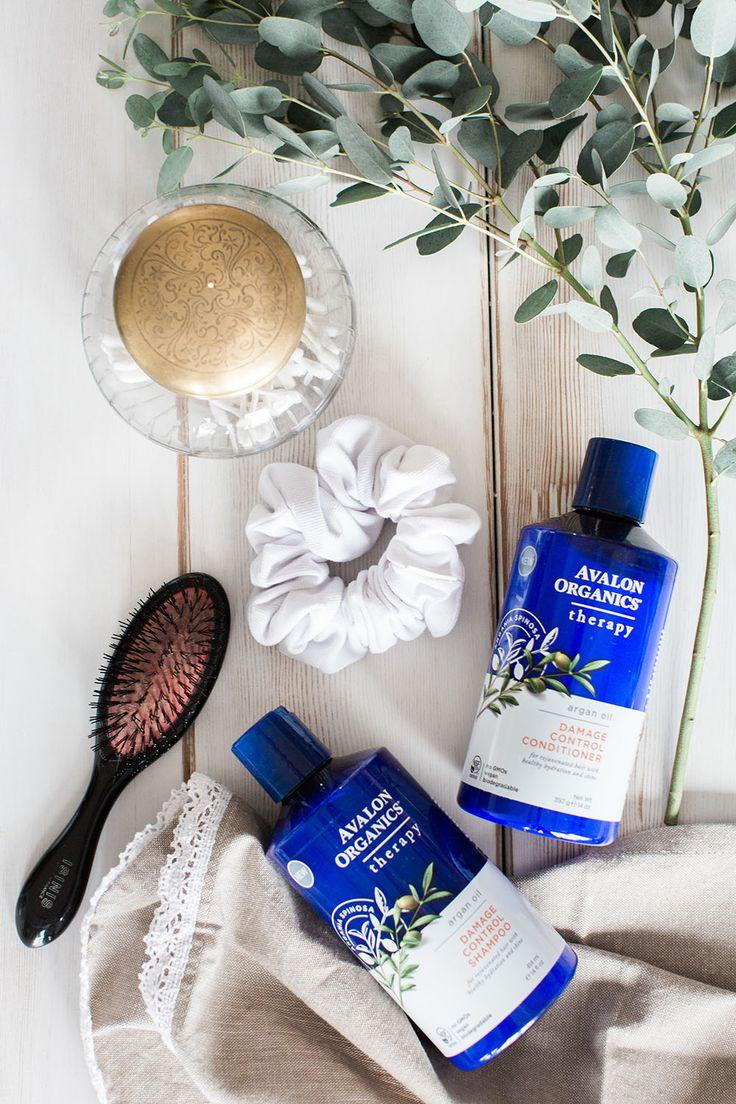 Avalon Organics Argan Oil shampoo & conditioner smells like