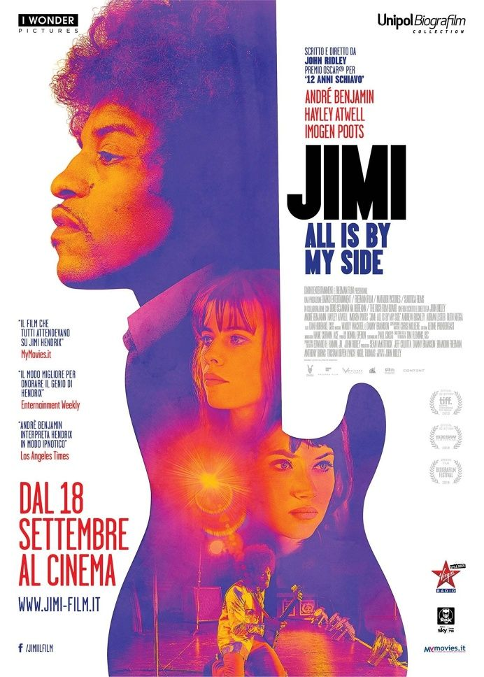 Jimi hendrix Jimi: All Is by My Side (2014) #movie #poster #cinema in Fresh