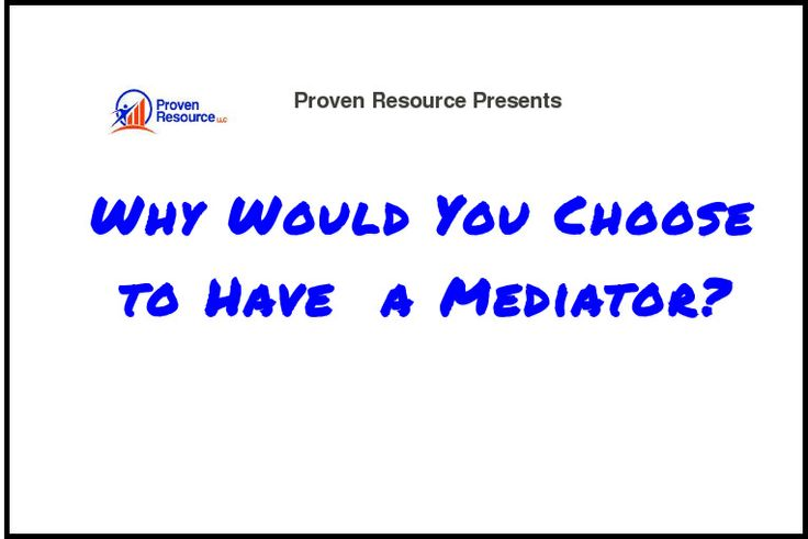 Why Do You Need to a Mediator? Mediation, litigation, alternative dispute resolution - made with simplebooklet.com