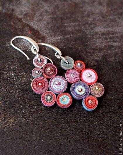 Polymer clay earrings / Серьги ручной работы. Ярмарка Мастеров - ручная работа…