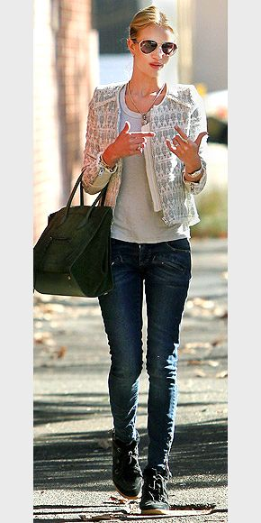 TWEED JACKETS photo   Rosie Huntington-Whiteley: Jackets Vests Coats, Rosie Huntington Whiteley, Tweed Jackets, Chic, Amazing Tweed, Amazing Jacket, Jackets Photo