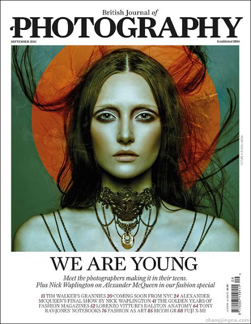 Zhang Jingna photography featured in the British Journal of Photography Sept 2013