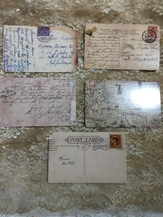 NEW!!! Full Size Reproduction Vintage Postcards #2 ( Set of