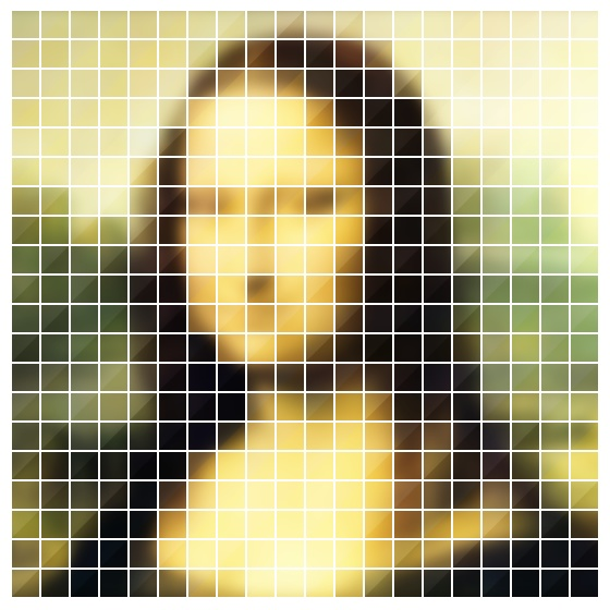 Mona Lisa, Pixel Art And Art On Pinterest