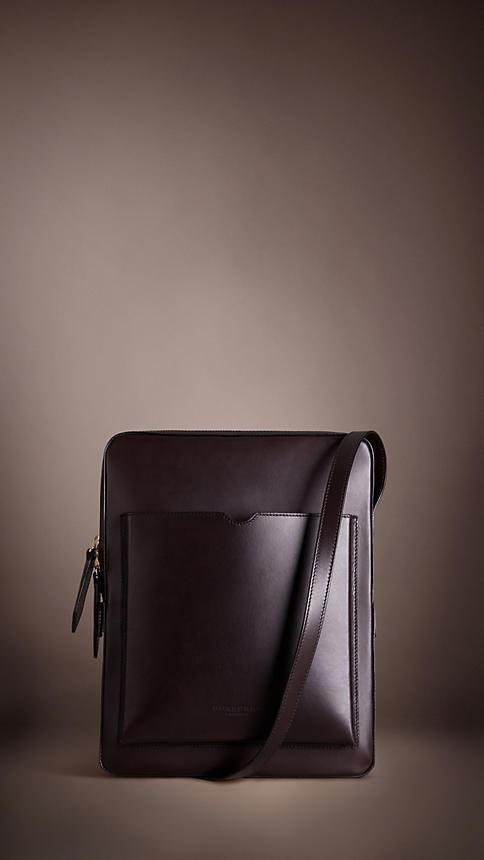 Large Leather Satchel | Burberry - feelin the pocket