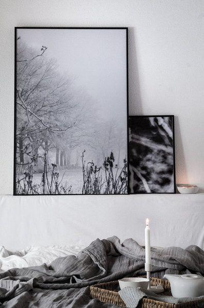 Strahlendes Winterweiß, zarte Pastellfarben und viele kuschelige Wohntextilien: das Einrichten und Dekorieren während der Wintermonate steht ganz im Zeichen der Gemütlichkeit.