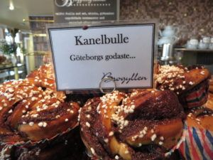 DELICIOUS cinnamon buns I ate in Gothenburg.  Check out the blog for more Gothenburg tips!