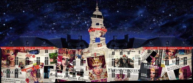 Exclu : découvrez les visuels du spectacle de Noël 2016 sur la Mairie de #Rennes - https://www.unidivers.fr/rennes-illuminations-place-de-la-mairie/