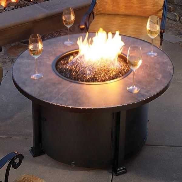 Make The Nights Something To Look Forward To When You Have The Santorini 42 Round Fire Pit Completing Yo Outdoor Fire Pit Fire Pit Clearance Fire Pit Backyard