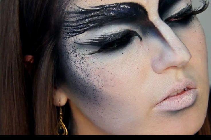 black swan makeup pinterest black swan makeup makeup and theater makeup. Black Bedroom Furniture Sets. Home Design Ideas