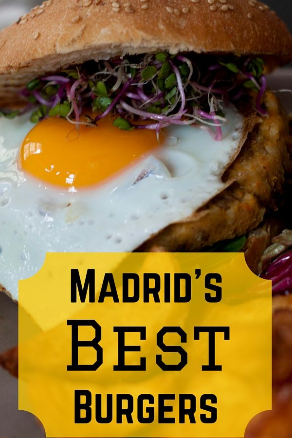 A list of Madrid's best burgers chosen by local food and culture bloggers. Looking for a great hamburger in Madrid? Check out our recommendations!