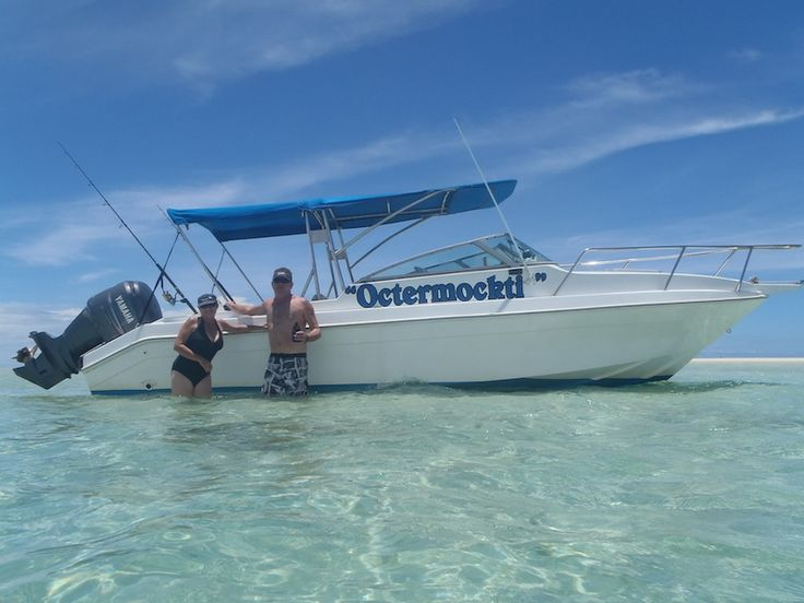 For an awesome day out off Denarau Island #fishing #islandhopping #SUP
