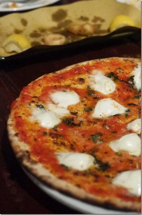 Pizza Bufala ~ Tomato, mozzarella di Bufala, extra virgin olive oil, basil