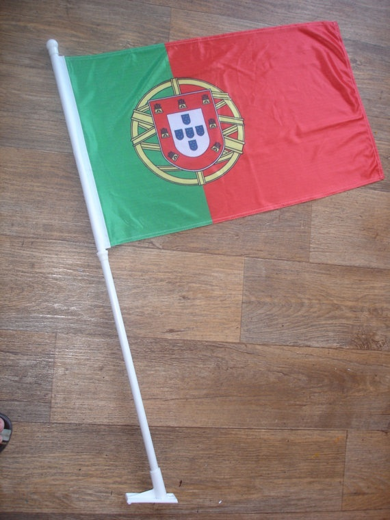 custom made portugal flag by customflag on Etsy, $55.00