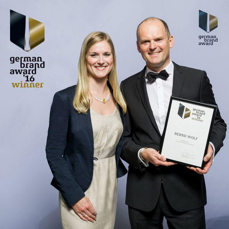 BERND WOLF - Winner beim German Brand Award 2016  Mehr Infos unter: http://www.berndwolf.de/store/de/gba2016 #GermanBrandAward #Schmuck #BerndWolf