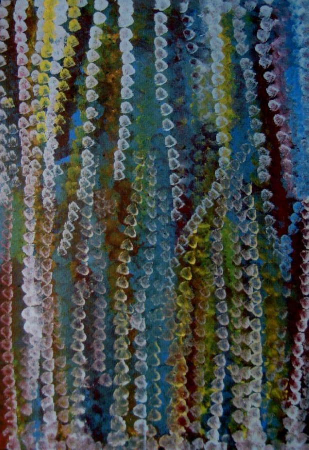 Emily Kame Kngwarreye / Alalgura - My Countrv 1994 91 x 61.5cm