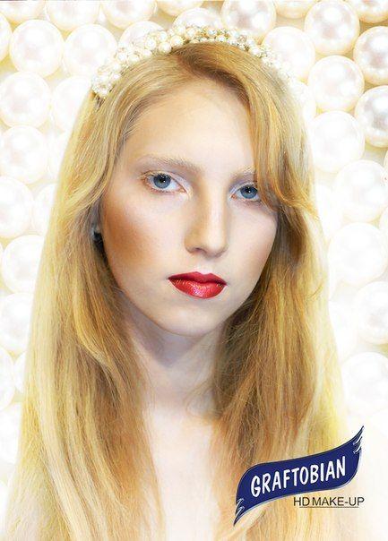 Визажист: Анастасия Левандовская▼   Фотограф: Иван Малков  Работа выполнена косметикой #Graftobian #HD #Make-Up