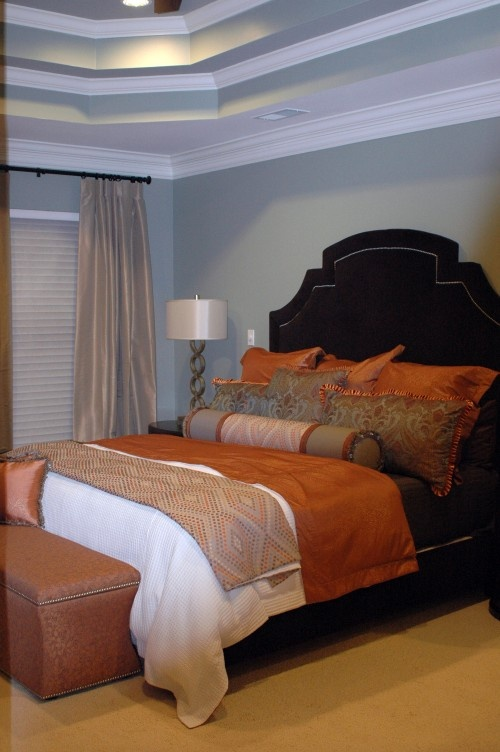 orange master bedroom 48 best blue orange color scheme images on 12746