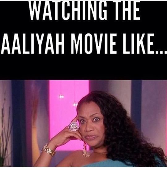 Lifetime's Aaliyah movie memes went viral on Twitter and Instagram after the Aaliyah fans didn't find the film to appealing.