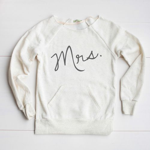Mrs. sweatshirt