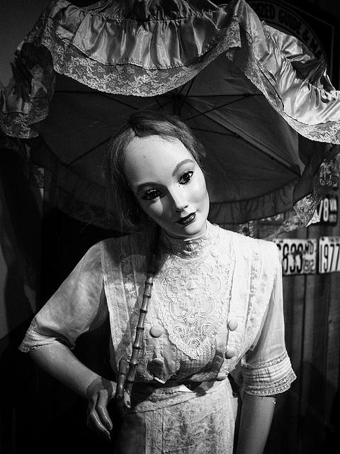 Creepy Vintage Mannequin