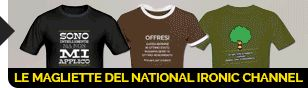 Le magliette del National Ironic Channel https://shop.spreadshirt.it/100037522/ #umorismo #maglieitte #gadget #regali #geek #ridere #ironia