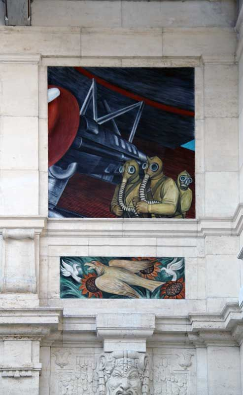 The diego rivera mural at detroit institute of the arts is for Diego rivera ford mural