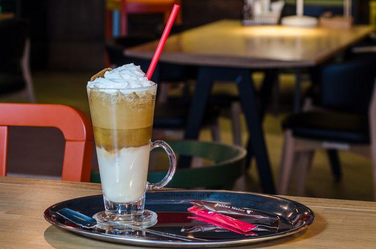 Cafea flavoured frappe