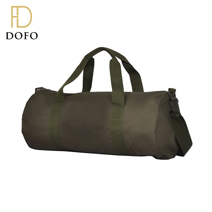 Custom design round travel bag foldable rolling duffel bag with shoulder belt and handle