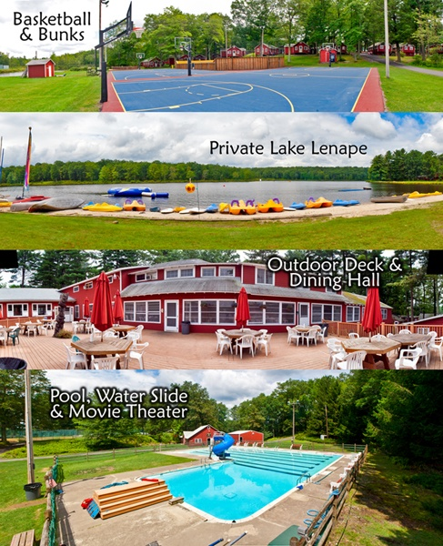 Some panoramic views of the beautiful Camp Canadensis facility.