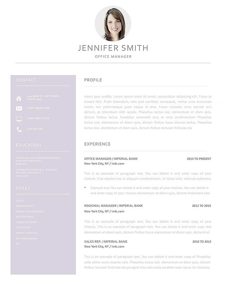 Resume Templates Make Your Resume Stand Out Resumeway Resume Templates Best Resume Template Resume