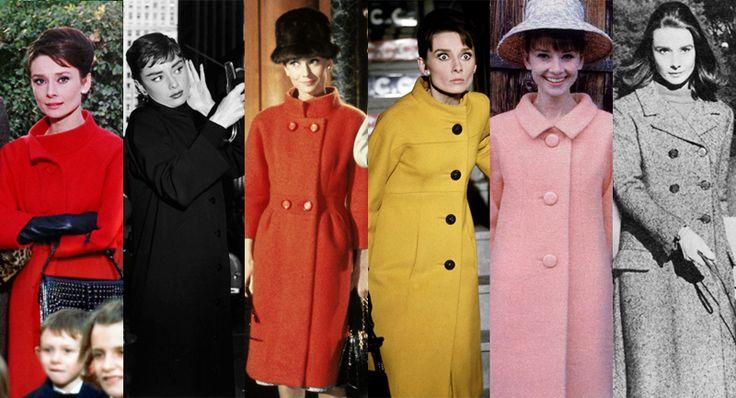Rare Audrey Hepburn — 9. The Coat One style that definitely lasted...