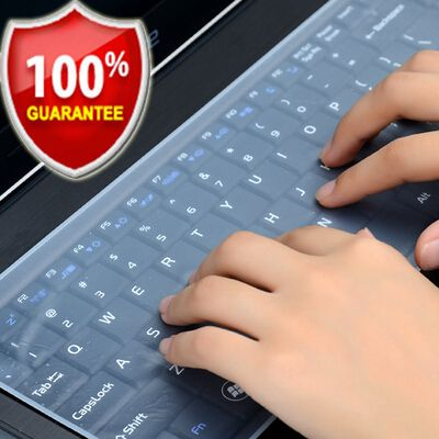 Waterproof Laptop Keyboard protective film 15 laptop keyboard cover 15.6 17 14 notebook Keyboard cover dustproof film silicone  Price: 1.32 USD