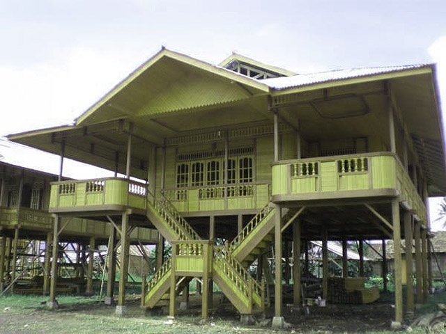 North Sulawesi traditional house