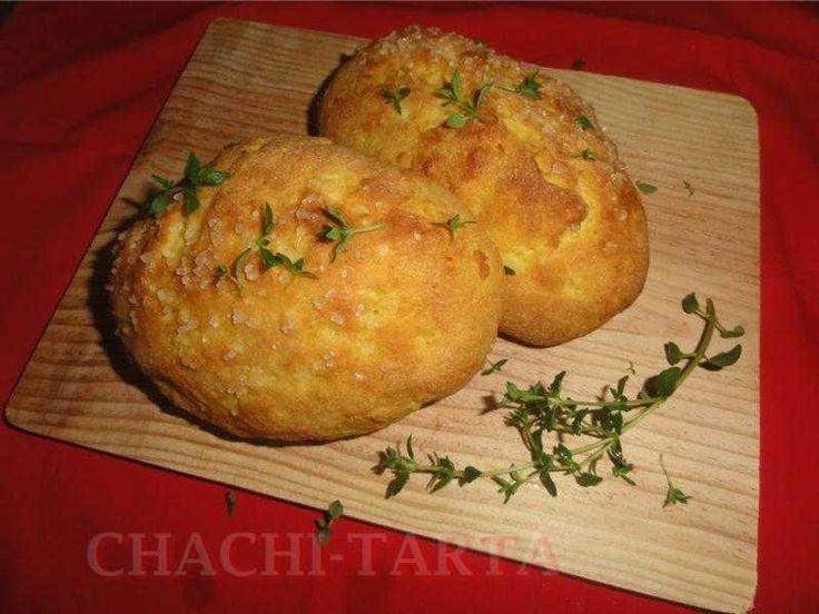 Pan de patata, cúrcuma y tomillo (sin gluten) - Chachi-Tarta
