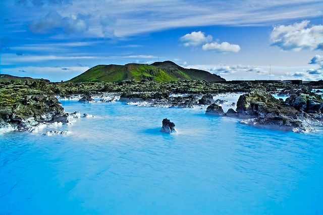 Blue Lagoon Iceland by Halldor Kr Jonsson, via Flickr