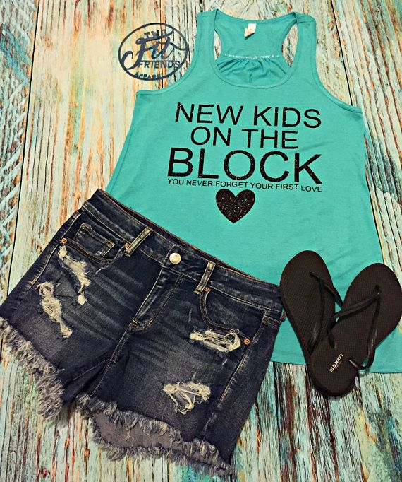 New Kids on the Block Concert Tank Top Concert You never NKOTB