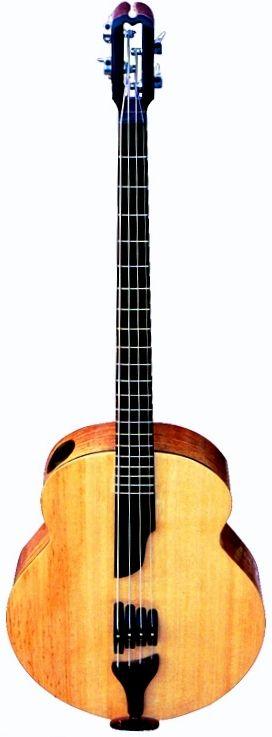 Nouvelle Lutherie Lab Anahata Acoustic Bass Guitar --- https://www.pinterest.com/lardyfatboy/