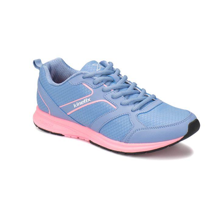 Kinetix XUUM W Açık Mavi Açık Pembe Siyah Kadın Koşu Ayakkabısı - Spor Yeni Sezon - Spor