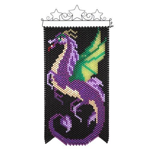 Sky Dragon Beaded Banner Kit by Herrschners
