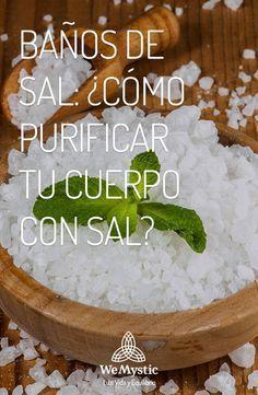 ¿Sabias que puedes eliminar la energía negativa con un baño con sal? Descubre como aquí http://hechizosdecandela.com/bano-sal-marina-limpiar-aura/