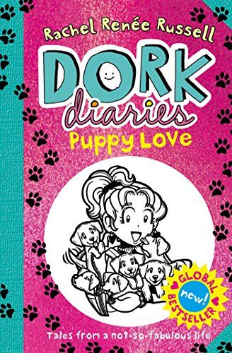 Puppy Love (Dork Diaries) by Rachel Renee Russell http://www.amazon.co.uk/dp/1471144577/ref=cm_sw_r_pi_dp_nKDnwb1WA00V4