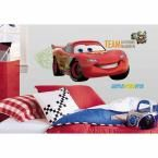 Cars 2 Peel and Stick Giant Wall Decal, Red