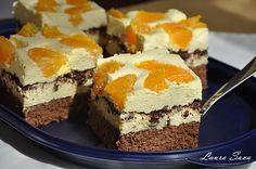 Prajitura Diplomat cu portocale si ciocolata   Retete culinare cu Laura Sava