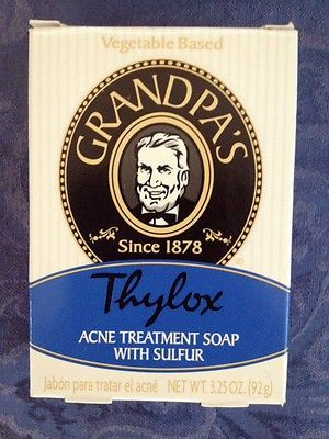 nice GRANDPA'S Thylox ACNE Rosacea TREATMENT SULFUR Soap NEW - For Sale View more at http://shipperscentral.com/wp/product/grandpas-thylox-acne-rosacea-treatment-sulfur-soap-new-for-sale/