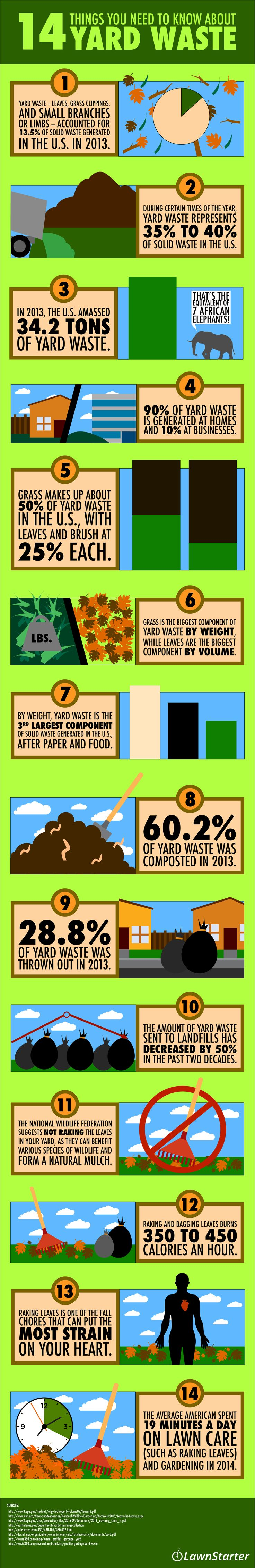 14 Things You Need to Know About Yard Waste